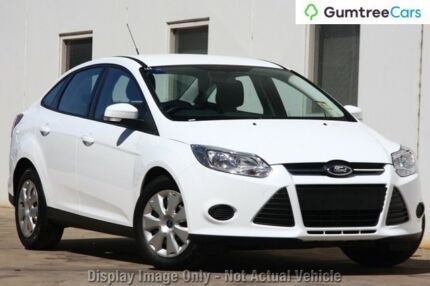 2012 Ford Focus LW MKII Ambiente PwrShift White 6 Speed Sports Automatic  Dual Clutch Sedan