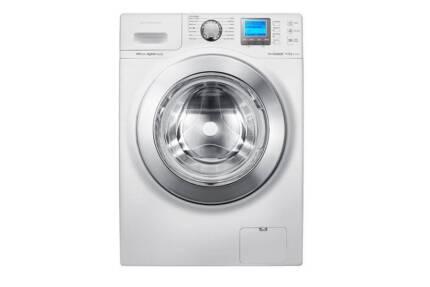 sale samsung wf1104xac 10kg front load washing machine bubbl wash