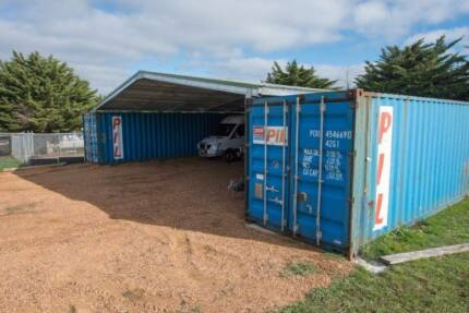 shipping container shelters delivered to wollongong