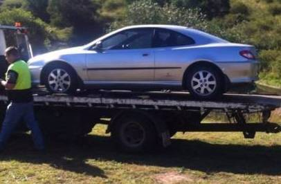 WRECKING 1998 PEUGEOT 406CC AUTO 3L PETR COUPE FREE FREIGHT M012