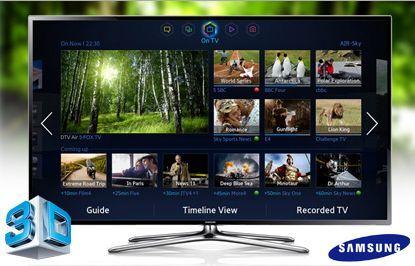 Samsung Smart tv 55 Inch Series 6 Smart tv Samsung Series 6