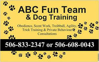 APRIL EVENTS AT THE ABC DOG TRAINING AND SOCIAL CENTER