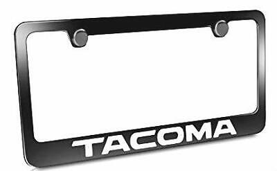 License Plate Frame Holder (License Plate Frame Cover Holder Metal with Screws Caps for All Toyota-Tacoma)