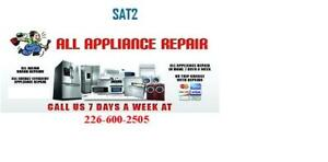 Appliance installation and repair 226 600 2505
