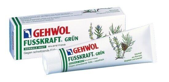 Gehwol Fusskraft grün 125 ml