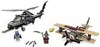 Lego Batman set 7786-1: The Batcopter: The Chase for Scarecrow