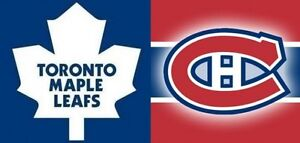 SATURDAY NIGHT HOCKEY! LEAFS VS HABS IN MONTREAL ON OCT29 & MORE