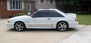 1987 Mustang Gt Only 64,500 km!