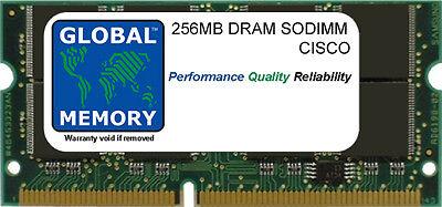 256mb Dram Memoria Sodimm RAM per Cisco 1841 Router (Mem1841-256d)