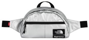 North Face Metallic Roo II Lumber Pack in Silver