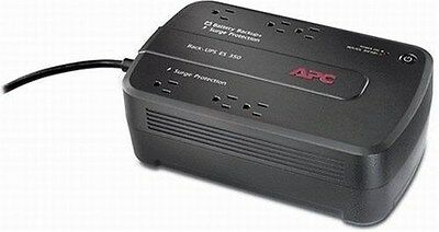 APC Back-Up 6-outlet Power Supply 120V 350VA Battery Surge Protector