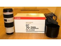 Canon EF 70-200mm F4 IS L lens for sale