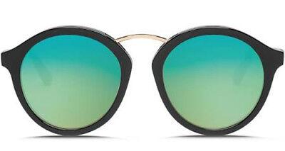 Electric Visual Mix Tape Gloss Black / OHM Green Chrome Sunglasses