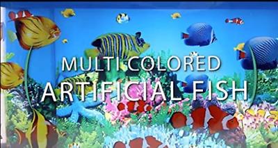 Lightahead Artificial Tropical Fish Aquarium Decorative Lamp Virtual Ocean in A 7