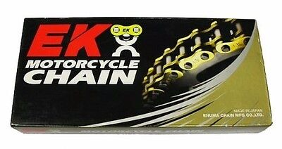 NEW EK SRO6 520 x 120 LINK HD GOLD O-RING CHAIN FAST FREE SHIP MOTORCYCLE ATV