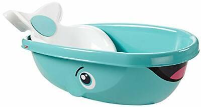 Cute Baby Bathtub Contoured infant Seat Cozy Padded Whale Tub Baths