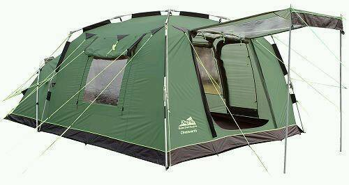 Khyam Chatsworth 3 Person Quick Erect Dome Tent In