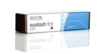 Strictly Professional 15ml Eyelash Eyebrow Dye Tint Brown Eye Lash Tinting