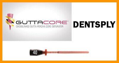 Guttacore Obturators Size 40. Economy Pack Of 30 Obturators. Tulsa Dental.