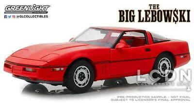 The Big Lebowski The Little Larry Sellars 1985 Chevrolet Corvette C4 13533 1/18