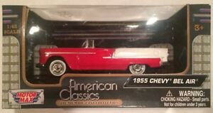 To swap my Mint 1:18 scale die cast 55 chevy official pace car