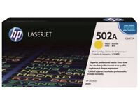 New HP 502A Yellow Print Cartridge (Yield 4k) for LaserJet 3600 Series Printers