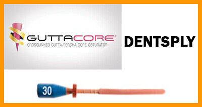 Guttacore Obturators Size 30. Economy Pack Of 30 Obturators. Tulsa Dental.