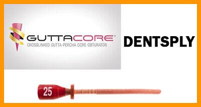 Guttacore Obturators Size 25. Economy Pack Of 30 Obturators. Tulsa Dental.