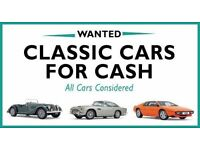 **CARS FOR CASH**CLASSIC JAGUARS/DAIMLER/BMW/MERCEDES OR ANYTHING