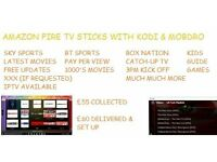 Amazon Fire TV Stick With Kodi, Mobdro plus More.