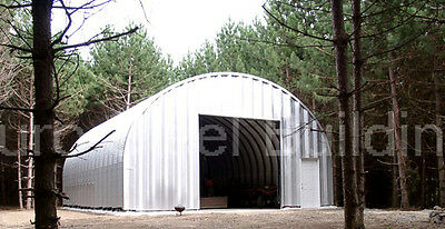 DuroSPAN Steel 25x46x14 Metal Arch Straight Wall Buildings DIY Home Kits DiRECT](Building Kits)