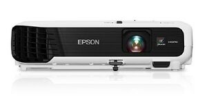 Epson VS240 LCD Projector - 4:3 - Front - 800 x 600 - SVGA - 300