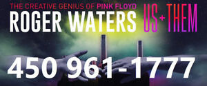 ROGER WATERS : SECTIONS ROUGES ET BLANCS !!!