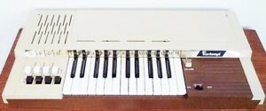 Vintage BONTEMPI Electric KEYBOARD Organ Piano Antique