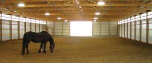 Quality Crumb Rubber Horse Arena Footing!