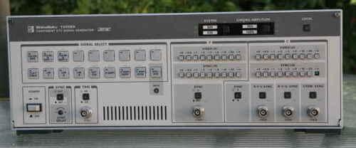 ShibaSoku TG55BX COMPONENT DTV SIGNAL GENERATOR