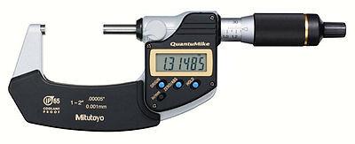 Mitutoyo 293-186-30 Quantumike Digimatic Micrometer 1-2 Range .000050.001mm