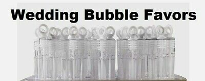 Wedding Bubble Wand Favors, Party Wands...  25 PIECES (Wedding Bubble Wands)