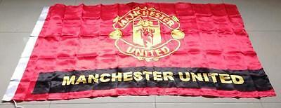 Manchester United Club Flag Banner 3x5 ft Soccer Club Fan Collection decoration