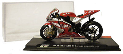 Ixo/altaya Alt24 Yamaha Yzr M1 Motogp 2004 - Marco Melandri 1/24 Scale
