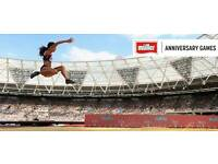 2 x Tickets for London Anniversary Games