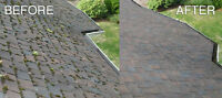 D&G gutter cleaning and roof moss removal call for a free now