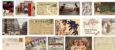 Grandpa's Postcards
