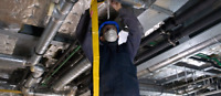Sheet metal worker duct installer