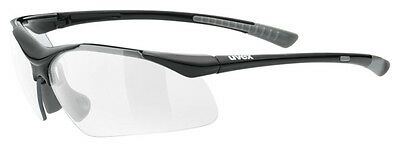 Uvex Fahrradbrille Sportbrille sportstyle 223 black-grey