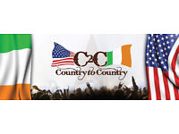 2 Country to country tickets for sunday evening standing