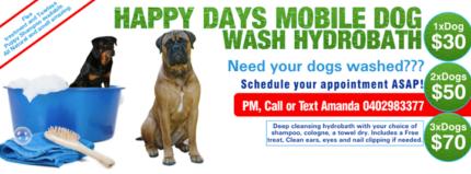 Happy Days Mobile Dog Wash Hydrobath