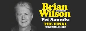 Wanted: 2 Brian Wilson Tickets