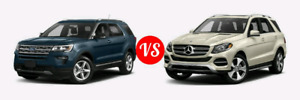 Looking for Mercedes GL or ford Explorer
