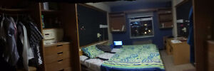 A very conducive room at one of University of Windsor Residence Windsor Region Ontario image 1